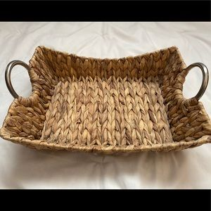Other - 3 for $15! Wicker Tray Basket